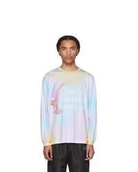 Multi colored Tie-Dye Long Sleeve T-Shirt