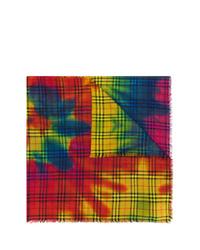 Burberry Tie Dye Vintage Check Scarf