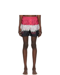 Valentino Multicolor Tie Dye Swim Shorts