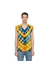 The Elder Statesman Multicolor Heavy Vest