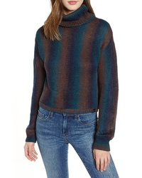Multi colored Tie-Dye Turtleneck