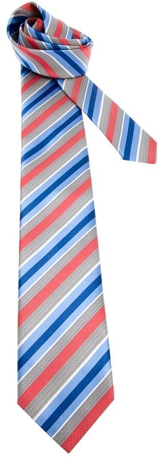 Brioni Diagonal Stripe Tie
