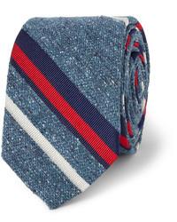 J.Crew Fisher Striped Silk Tie