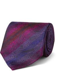 Etro Paisley Woven Silk Tie