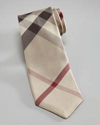 Burberry Skinny Check Tie