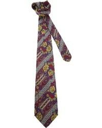 Fendi Vintage Floral Tie