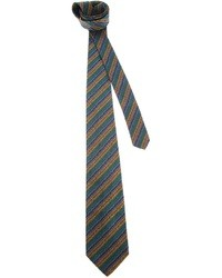 Fendi Vintage Patterned Tie