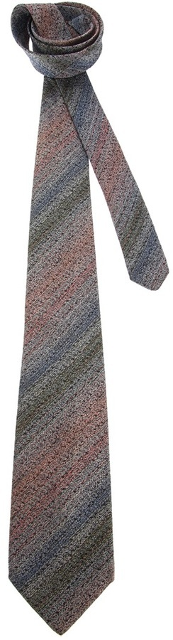 Fendi Vintage Striped Tie