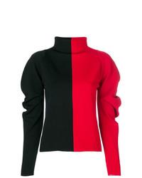 Haider Ackermann Colour Block Turtleneck Sweatshirt