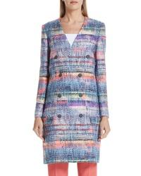 Emporio Armani Tweed Coat