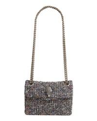 Multi colored Tweed Satchel Bag