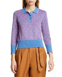 kate spade new york Floral Spade Sweater