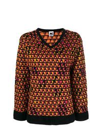 M Missoni V Neck Loose Sweater