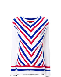 Y/Project Y Project Striped V Neck Jumper