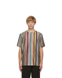 Paul Smith Multicolor Signature Stripe T Shirt
