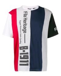 Fila Striped Logo T Shirt