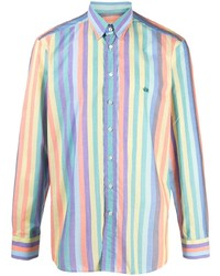Etro Stripe Print Button Down Shirt