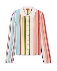 Missoni Striped Ribbed Cotton Shirt