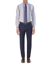 Etro Variegated Stripe Dress Shirt