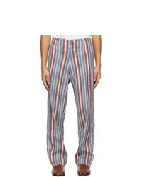 Maison Margiela Multicolor Striped Trousers