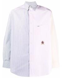 Tommy Hilfiger Colour Block Striped Shirt
