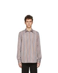 Paul Smith Multicolor Signature Stripe Tailored Shirt