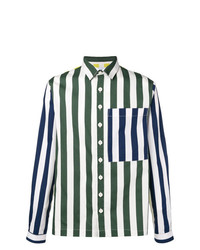 Sunnei Striped Loose Shirt