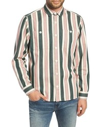 WAX LONDON Whiting Woven Shirt