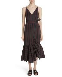 Rosetta Getty Flare Hem Dress