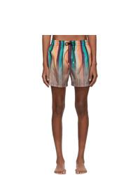 Paul Smith Multicolor Artist Clash Swim Shorts