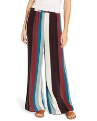 HIATUS Stripe Wide Leg Pants