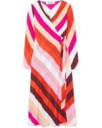 Diane von Furstenberg Tilly Silk De Chine Wrap Dress