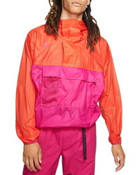 Nike Acg Packable Water Repellent Nylon Anorak