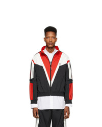Vetements Black And Red Track Jacket