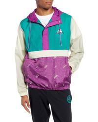 Fila Colorblock Hooded Nylon Anorak