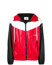 MSGM Colour Block Sports Jacket