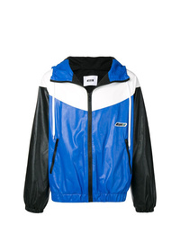 MSGM Colour Block Zipped Jacket
