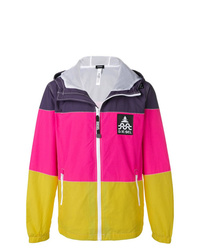 Diesel Colour Blocked Hooded Jacket