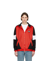Burberry Red Astala Track Jacket