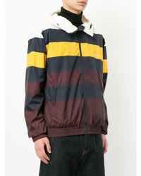 Wood Wood Striped Hooded Jacket