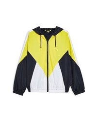 Topshop Texas Colorblock Windbreaker Jacket