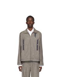 Kiko Kostadinov Multicolor Wool Tulcea Jacket