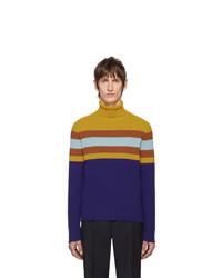 Multi colored Wool Turtleneck