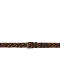 Paul Smith Multicolor Braided Cord Belt