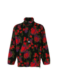 MSGM Floral Zipped Jumper