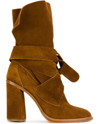 Casadei Tie Fastening Ankle Boots
