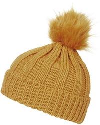Topshop Faux Fur Pom Beanie Hat