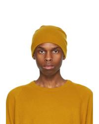 Frenckenberger Yellow Cashmere Beanie