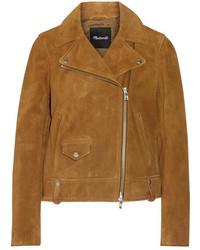 Mustard Biker Jacket