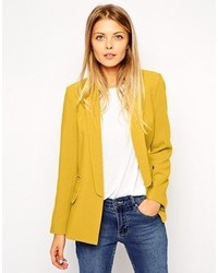 Women's Mustard Blazers by Asos | Women's Fashion